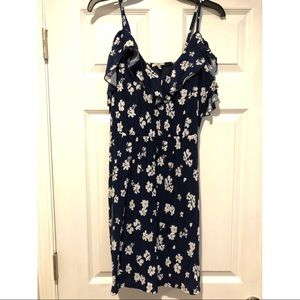 Blue and white Charlotte Russe Sundress